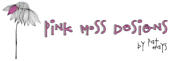 Logo pinkmossdesigns.com